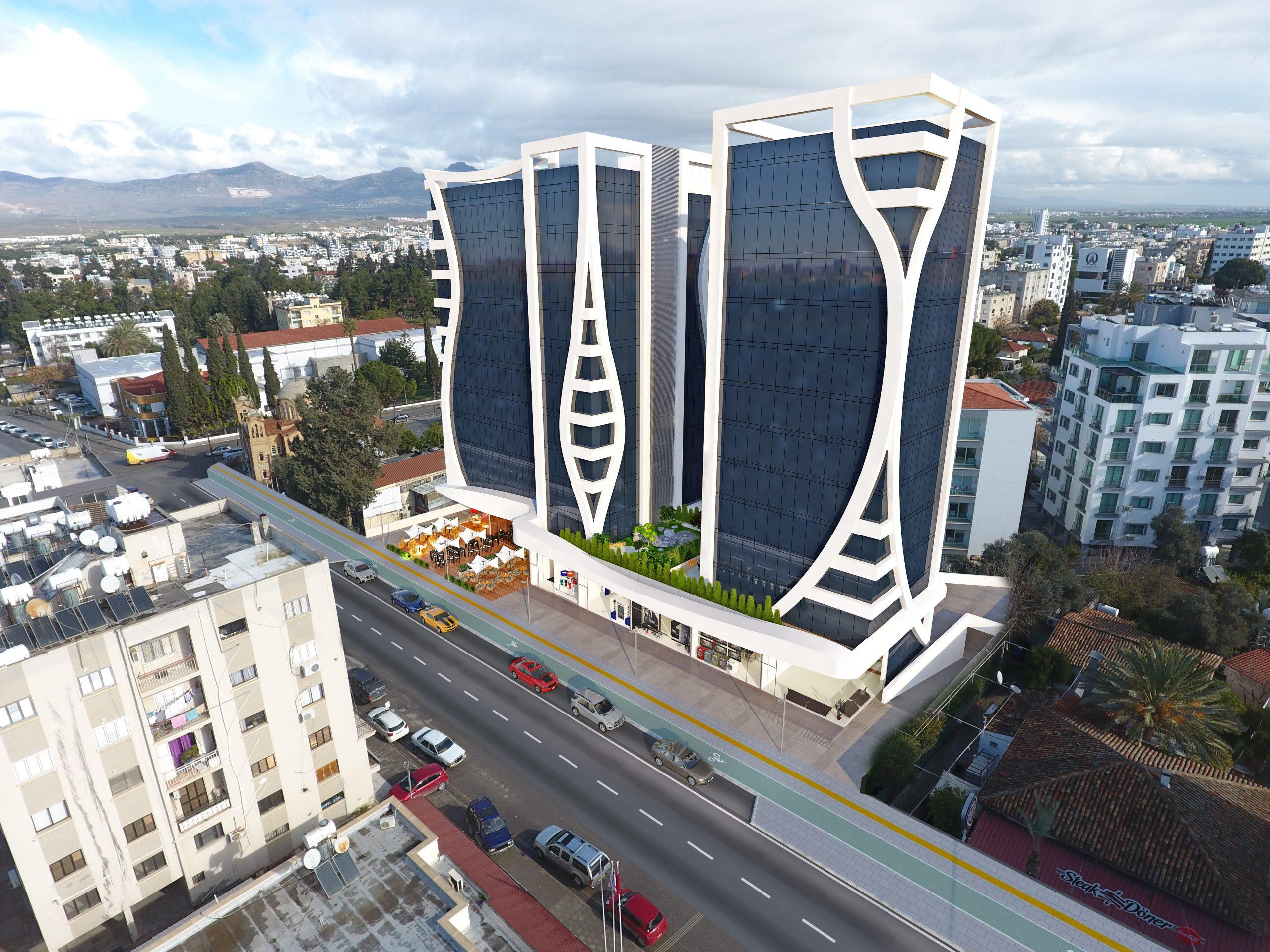 Celsus Business & Residence Dış Cephe