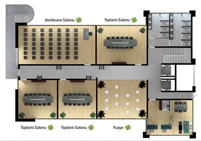 Celsus Business Kat Planı 1