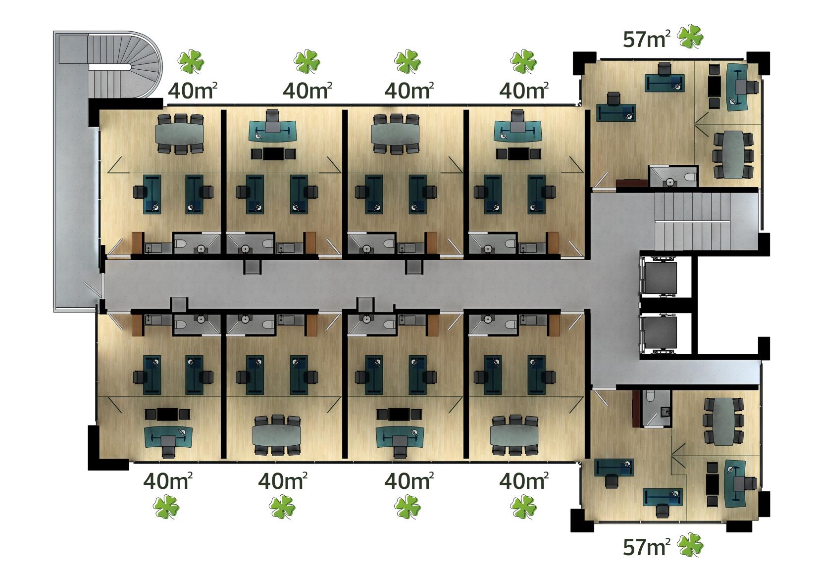 Celsus Business Kat Planı 2