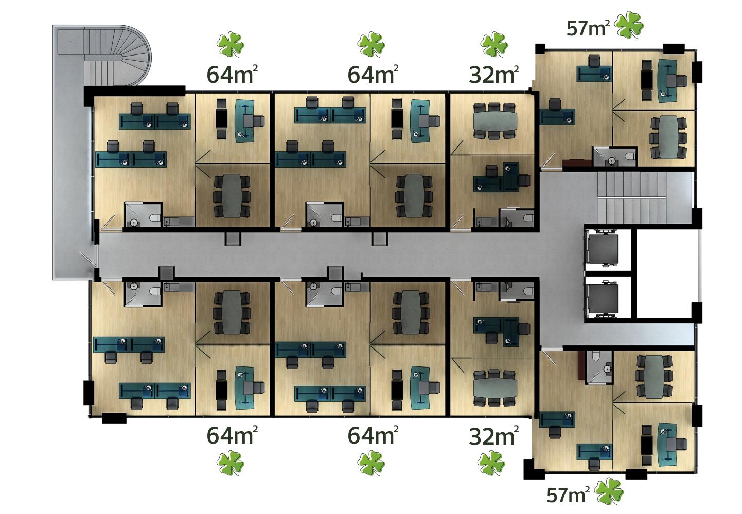 Celsus Business Kat Planı 3