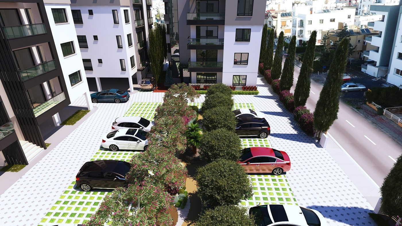 White Lotus Development Akdeniz Sitesi Park Alanı